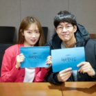 "Lee Sung Kyung And Lee Sang Yoon Are Focused In Script Reading For ""About Time"""