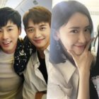 SM Entertainment Artists Pose Together Before Flight To Dubai For SMTOWN Concert