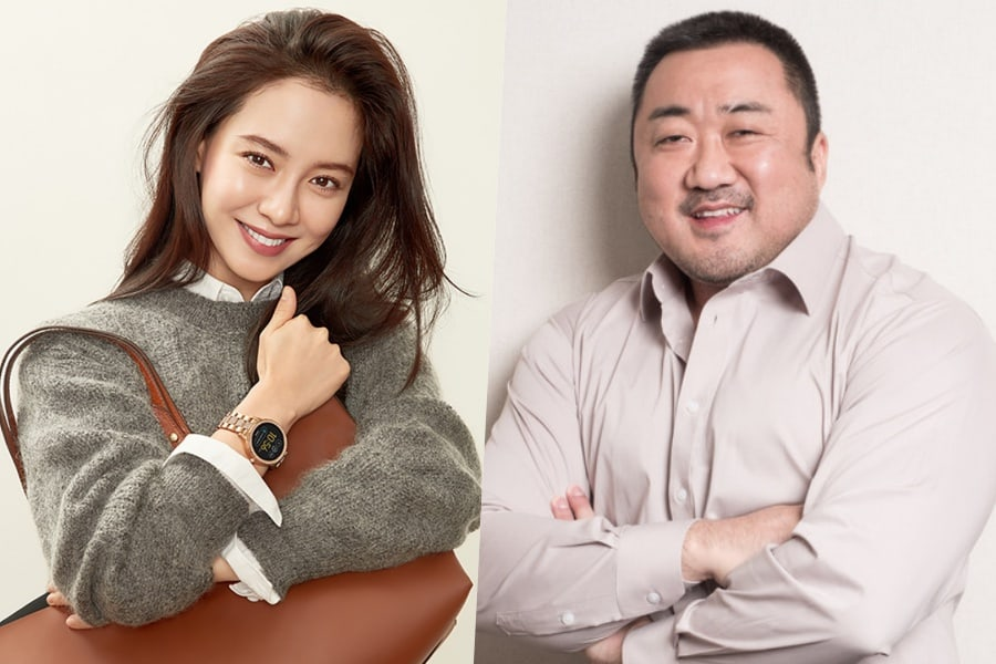 Song Ji Hyo In Talks To Join Ma Dong Seok In Upcoming Action Film