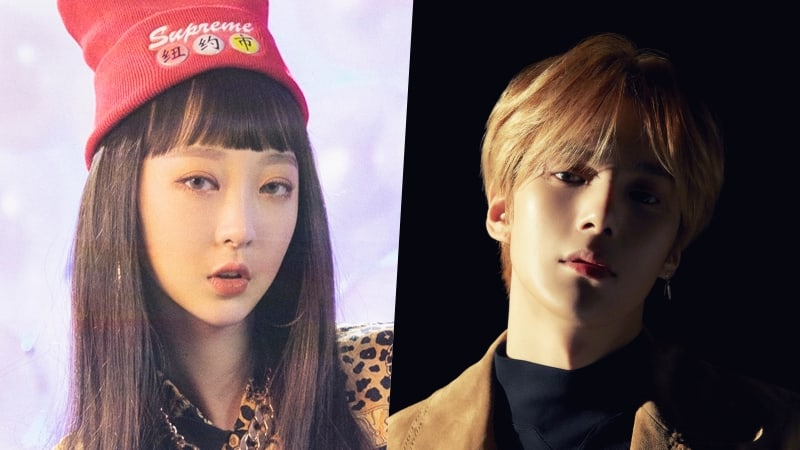 EXID's Hyelin Denies Dating Rumors With MONSTA X's Minhyuk