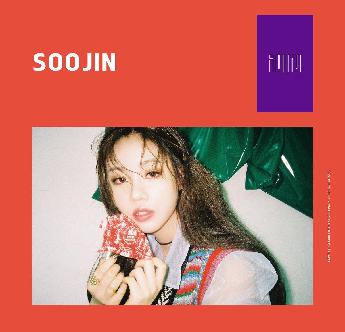 I-DLE/ IDLE (GIRL-I-DLE) >> Preparando Debut Idle-soojin