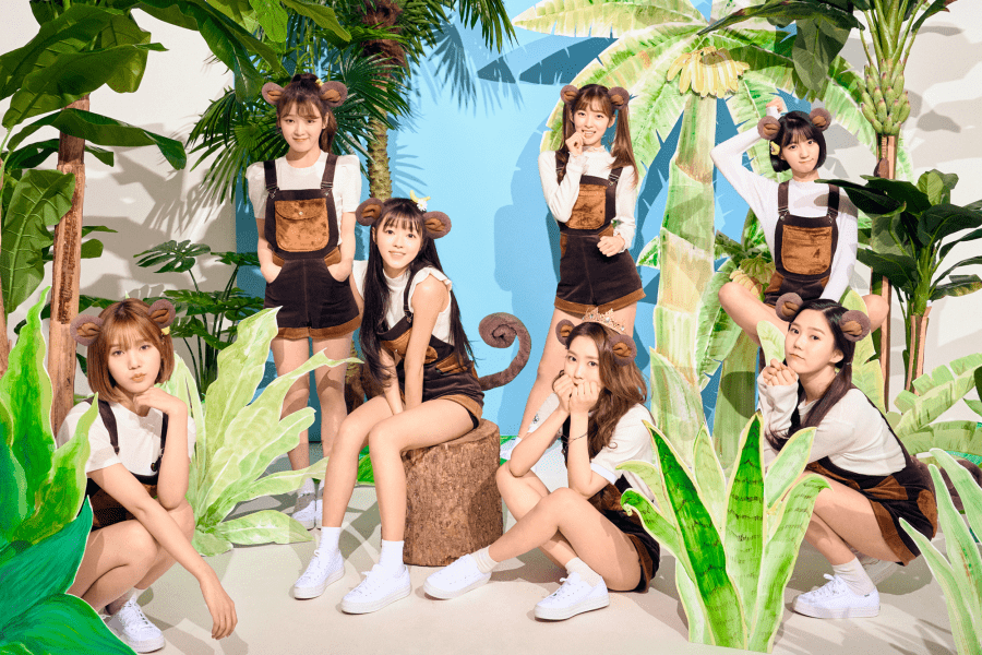 "Oh My Girl Talks Of Dramatic Concept Change With ""Banana Allergy Monkey"""