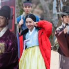 "Yoon Shi Yoon, Jin Se Yeon, And Joo Sang Wook Energize Production Staff Of ""Grand Prince"""