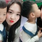 """TWICE's Nayeon Snaps Adorable Photos With Si An And Calls Him """"Hers"""""""
