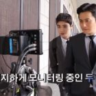 "Watch: Park Hyung Sik And Jang Dong Gun Are Hard At Work In Making Video For ""Suits"""