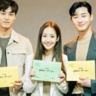 Lee Tae Hwan, Park Min Young, Park Seo Joon, And More Gather For 1st Script Reading Of New tvN Drama