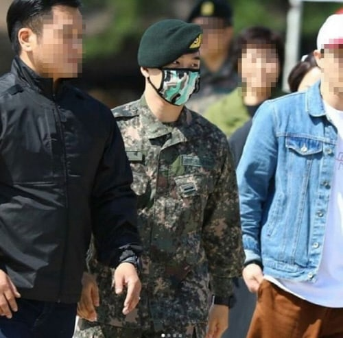 taeyang military