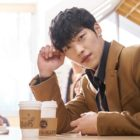 "Woo Do Hwan Steals Hearts With His Sweet Gaze Behind The Scenes Of ""Tempted"""