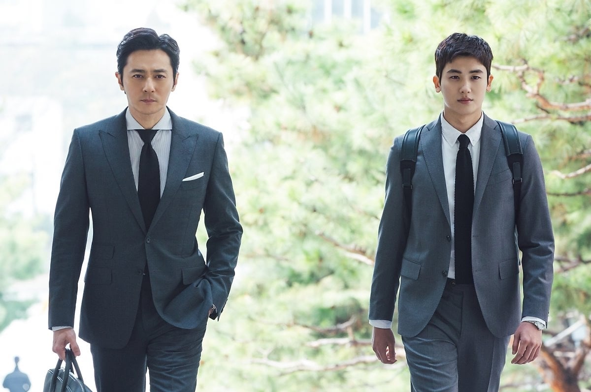 """Jang Dong Gun And Park Hyung Sik Personally Pick What To Look Forward To In """"Suits"""""""