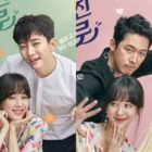 """""""Wok Of Love"""" Unveils Adorable Couple Posters Of 2PM's Junho, Jung Ryeo Won, And Jang Hyuk"""