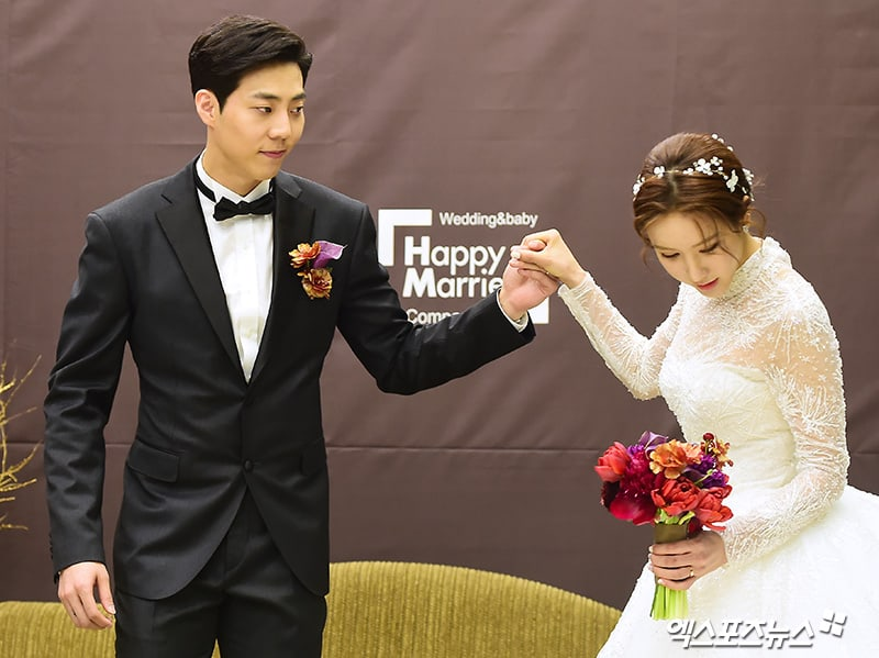 Former After School Member Jung Ah Ties The Knot With Stars In