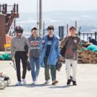 "Kang Daniel, Lee Yi Kyung, Jang Ki Ha, And Loco Relax In Jeju Island On ""It's Dangerous Beyond The Blankets"""