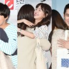 "Yoon Shi Yoon, Jin Se Yeon, And Joo Sang Wook Fulfill Their Promise By Holding A Free Hug Event For ""Grand Prince"""