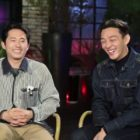 Film Co-Stars Steven Yeun And Yoo Ah In Explain What Each Other Is Really Like