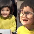 "Si Ha Looks Even More Adorable In Glasses On ""The Return Of Superman"""