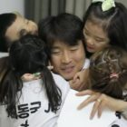 Lee Dong Gook's Children Successfully Surprise Him On His Birthday