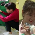 """Eric Nam And gugudan's Kim Sejeong Look After William And Bentley On """"The Return Of Superman"""""""