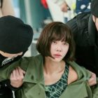 "Hwang Jung Eum Causes A Scene At The Airport In ""The Undateables"""