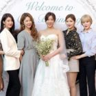 Current And Former 9MUSES Members Unite For Sungah's Wedding