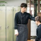 """2PM's Junho Sweetly Worries Over Jung Ryeo Won In """"Wok Of Love"""""""