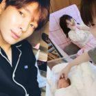 Watch: FTISLAND's Choi Jong Hun Shares Adorable Video Of Fellow Member Minhwan's New Baby