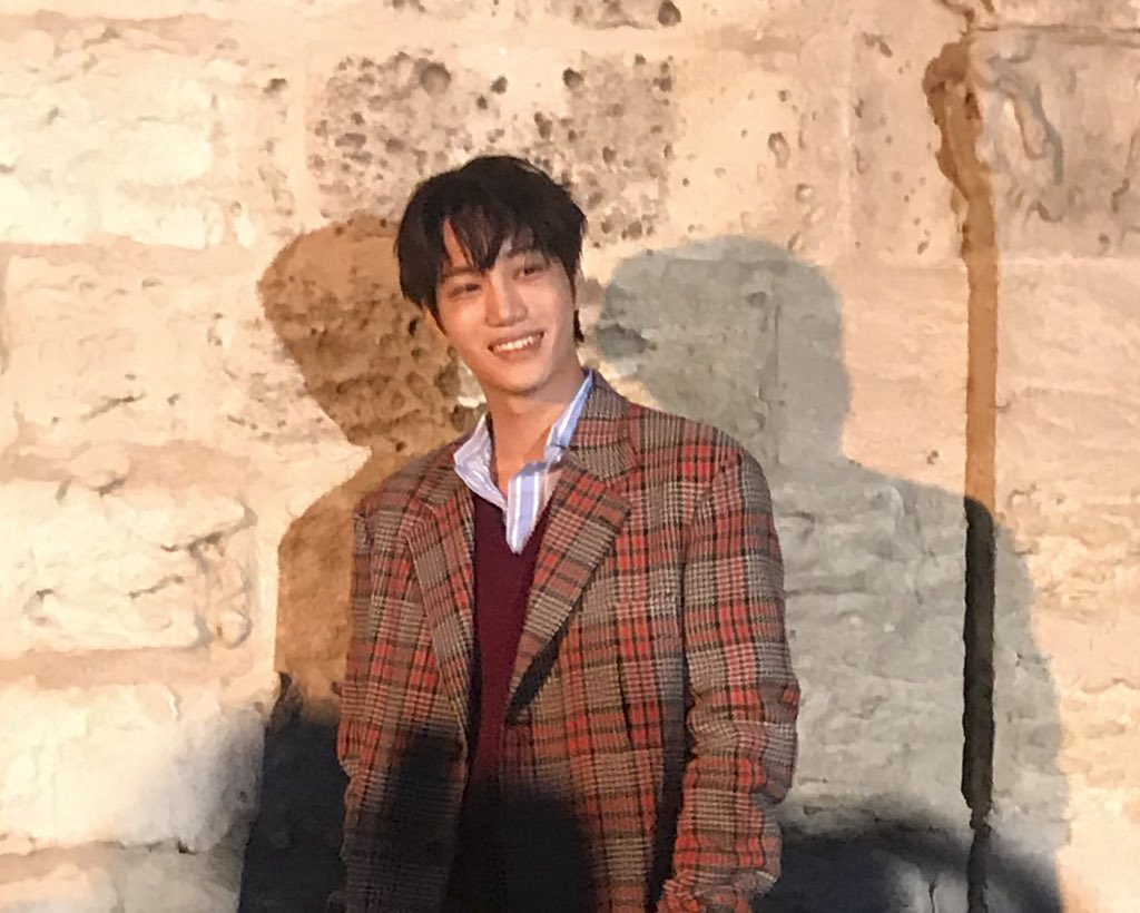 Vogue Names Exo S Kai As The Star Of Gucci S Cruise 2019 Show Soompi