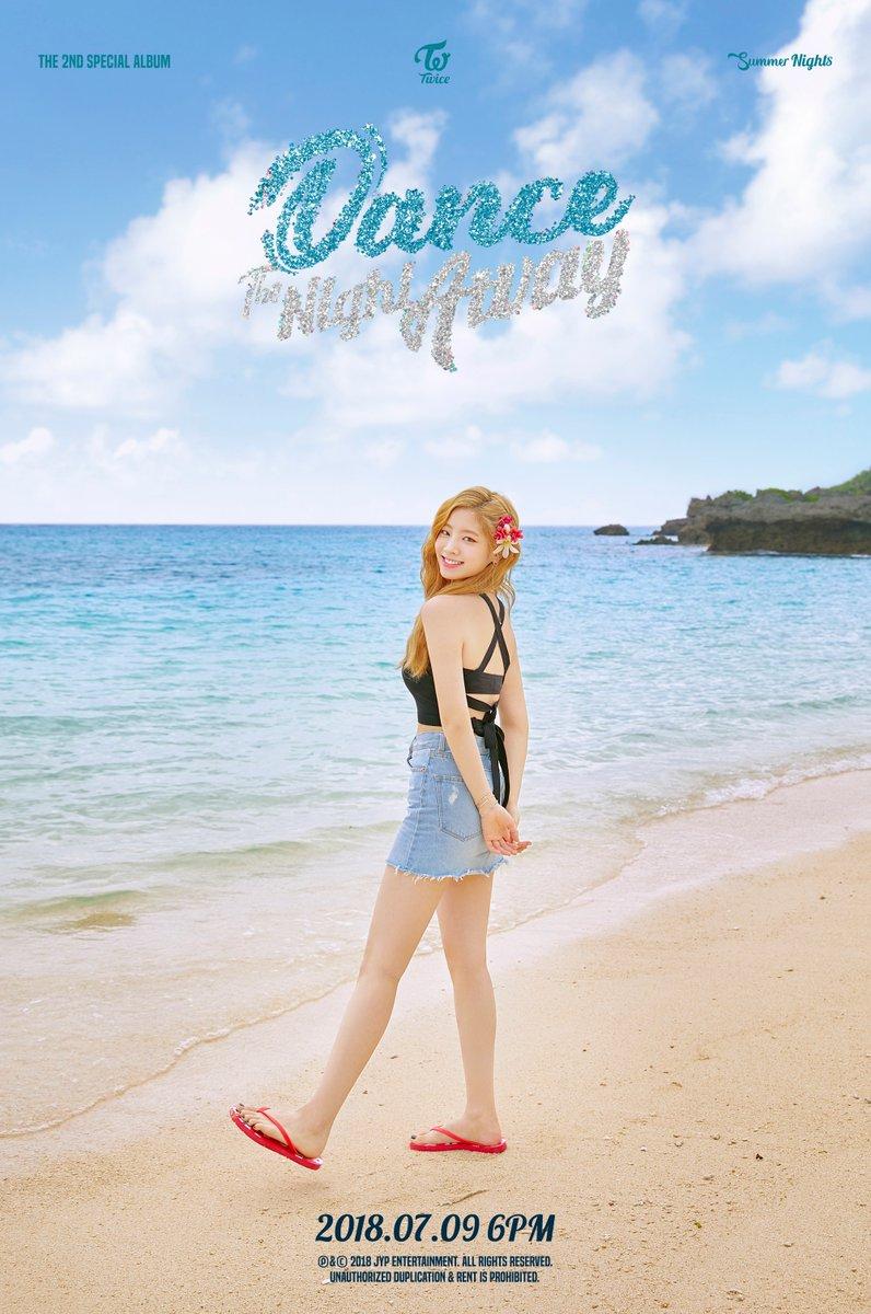 Twice được khen ngợi về nhan sắc trong teaser nhá hàng Dance The Night Away
