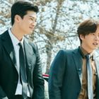 """Koo Ja Sung And Park Hae Jin Show Off Their Bromance In """"Four Sons"""""""