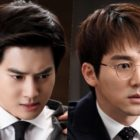 """Things Get Physical Between EXO's Suho And Oh Chang Suk On """"Rich Man, Poor Woman"""""""