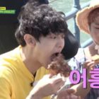 "Watch: EXO's Chanyeol Surprises ""Salty Tour"" Cast With His Voracious Eating"