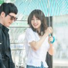 """Jang Hyuk And Jung Ryeo Won Share Cheerful Moment In The Rain For """"Wok Of Love"""""""