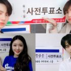 Stars Participate In Early Voting For Korean Local Elections