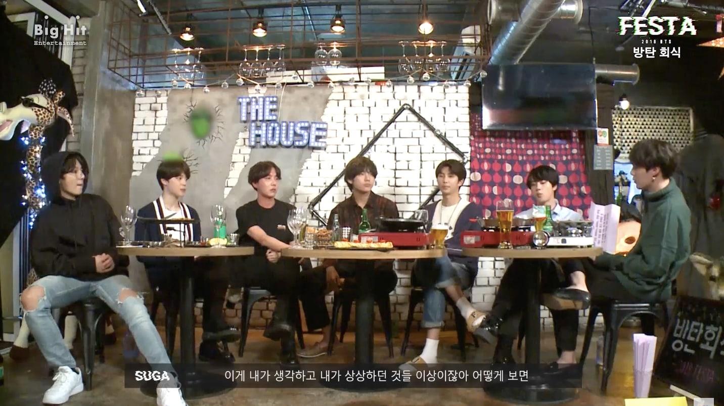 BTS Group Dinner