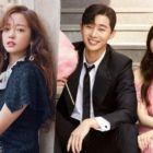 """Goo Hara Sends Support To Park Seo Joon And Park Min Young On Set Of """"What's Wrong With Secretary Kim?"""""""