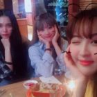"Jung Hye Sung, WJSN's Luda, And Hansel Get Together Outside Of ""Dunia"""