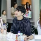 VIXX's Ken, Park Ji Bin, And Kim Jin Kyung Meet For First Script Reading Of New Web Drama