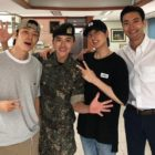 Super Junior Members Share Photos From Their Visit To Ryeowook In The Military