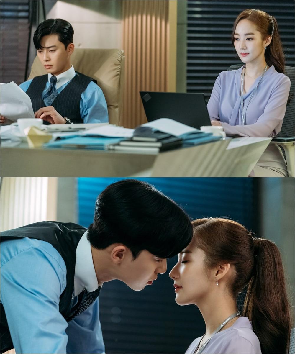 """""""Thư kí Kim sao thế?"""" hé lộ những tình tiết lãng mạn và kịch tính Park-Seo-Joon-Park-Min-Young-22"""