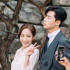 "Park Min Young And Park Seo Joon Are A Charming Duo Behind-The-Scenes Of ""What's Wrong With Secretary Kim"""