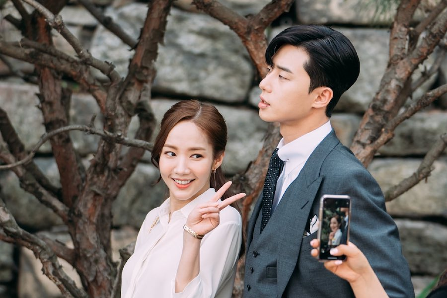 """Hậu trường """"Thư kí Kim sao thế?"""": suýt xoa trước nhan sắc của Park Min Young Park-Min-Young-Park-Seo-Joon9"""