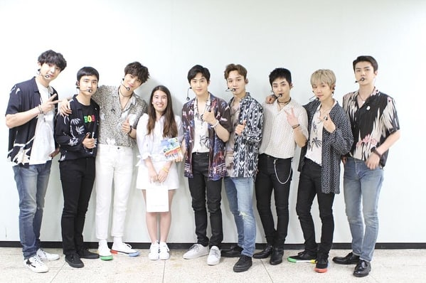 EXO Meets A Fan Battling Cancer And Makes Her Wish Come True | Soompi