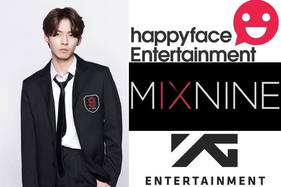 Happy Face Entertainment, công ty quản lý của Woo Jin Young là phía khởi kiện đầu tiên.