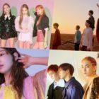 BLACKPINK, BTS, Taeyeon, And SHINee Grab Spots In Top 10 Of Billboard's World Albums Chart