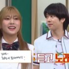 "Watch: Apink's Hayoung Challenges Kim Heechul In Guessing Songs Quickly On ""Ask Us Anything"""