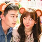 """Jang Ki Yong And Jin Ki Joo Are An Adorable Couple In Behind-The-Scenes Photos For """"Come And Hug Me"""""""