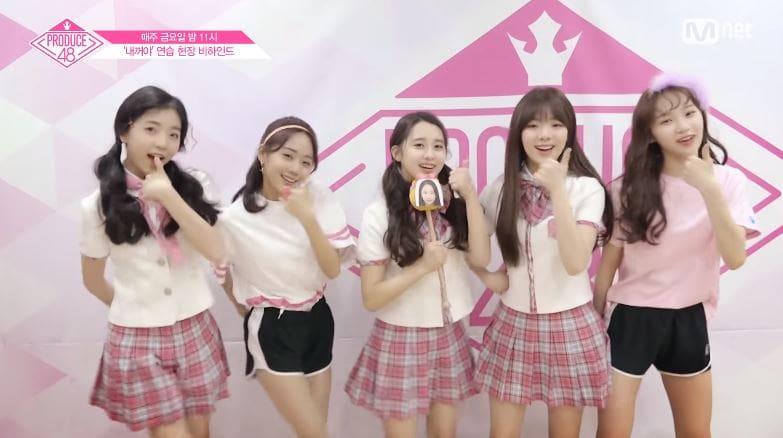Video clip hài hước: Produce 48: Các thành viên háo hức tự quay video đầu tiên của mình Produce-48-3