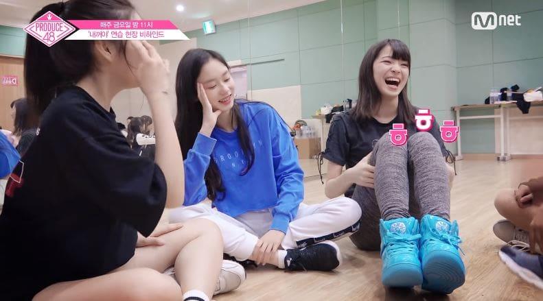 Video clip hài hước: Produce 48: Các thành viên háo hức tự quay video đầu tiên của mình Produce-48-6