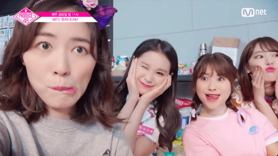 Video clip hài hước: Produce 48: Các thành viên háo hức tự quay video đầu tiên của mình Produce-48