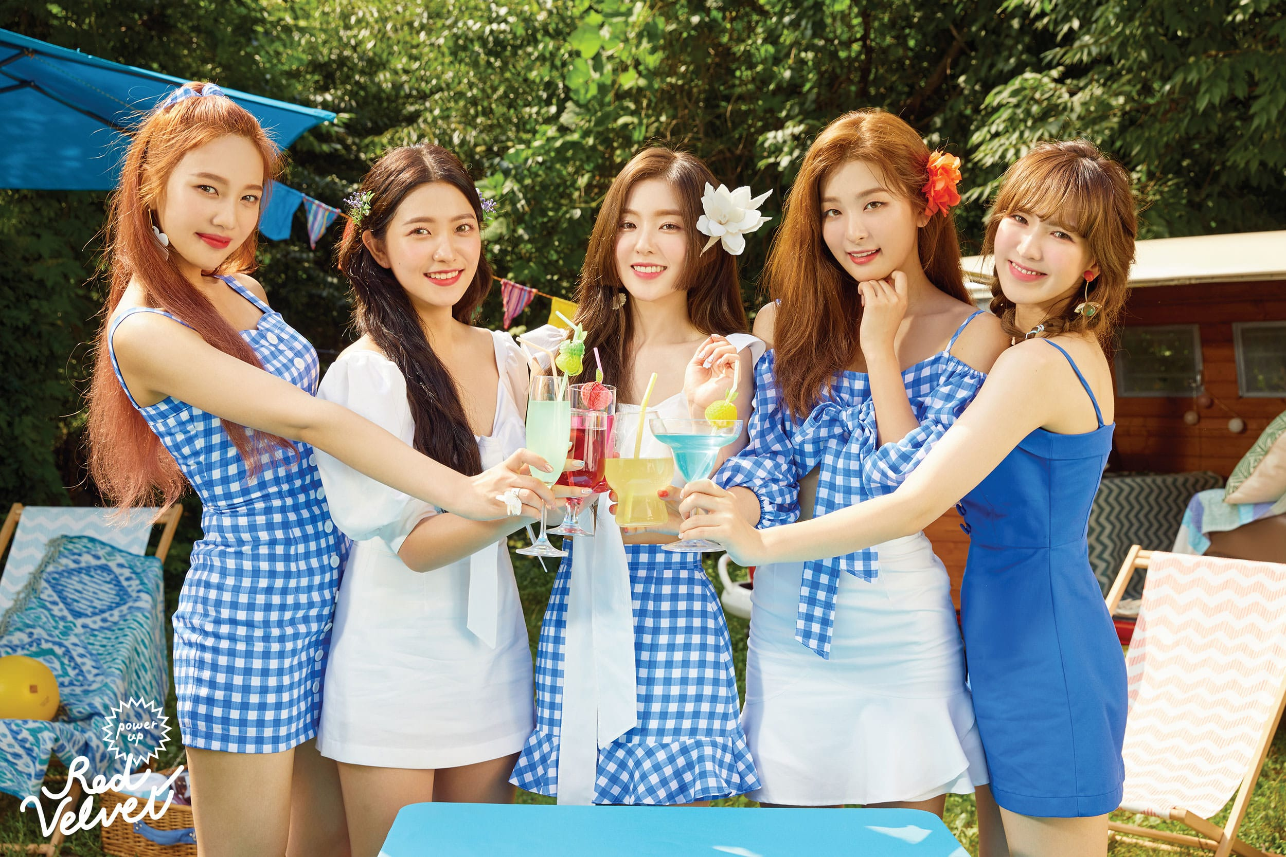 Update Red Velvet Unveils Adorable And Creative Summer Magic