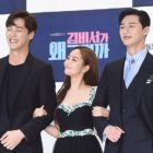 "Lee Tae Hwan Shares How He Got Close To ""What's Wrong With Secretary Kim"" Co-Stars Park Min Young And Park Seo Joon"
